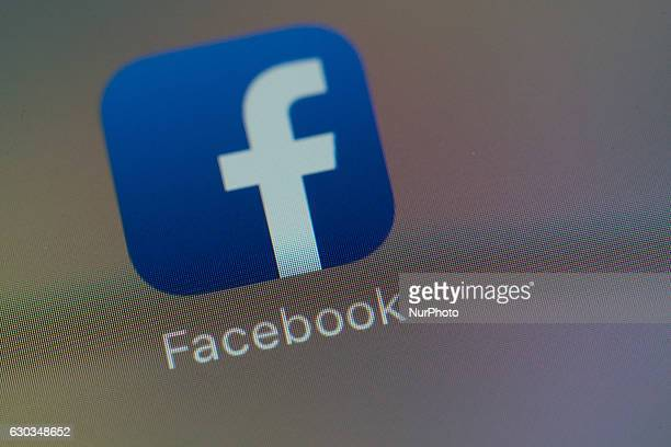 POLAND Warsaw December 21 2016 The European Commission is investigating potentially false claims that Facebook cannot merge user information from the...