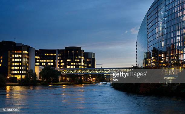 欧州議会ビル Strasbourg ,France