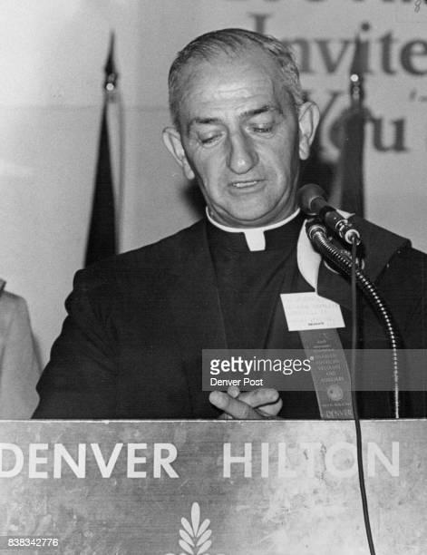 The Ev Joseph W Lauro Sky Pilot He's national chaplain of Disabled American Veterans Credit Denver Post
