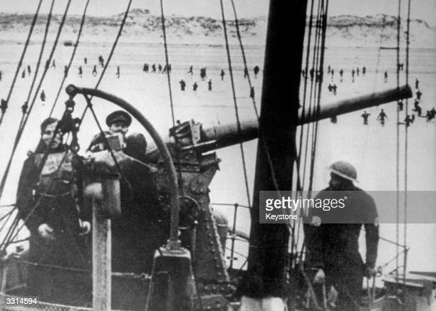 The evacuation of British Expeditionary Forces at Dunkirk