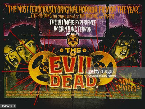 'The Evil Dead' a 1981 American horror film starring Bruce Campbell Ellen Sandweiss Ted Taimi Betty Baker and Richard DeManincor
