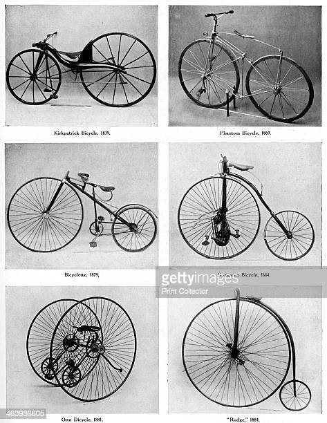 The evolution of the bicycle 19th century The Kirkpatrick bicycle 1839 Phantom bicycle 1869 Bicyclette 1879 Otto Dicycle 1881 Kangaroo bicycle and...