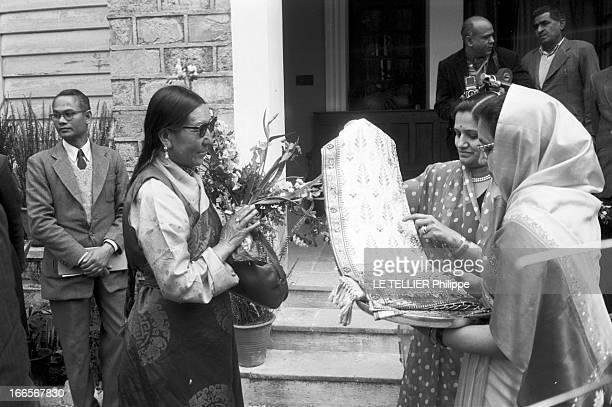 The Exile Of Dalai Lama In India En Inde à Mussoorie le 20 avril 1959 lors de sa fuite de Chine vers l'Inde le DALAILAMA alias Tenzin GYATSO le...