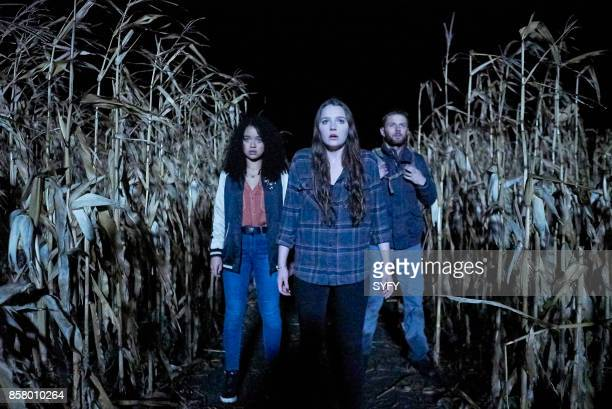 HOUSE 'The Exit' Episode 110 Pictured Aisha Dee as Jules Amy Forsyth as Margot Sebastian Pigott as Dylan