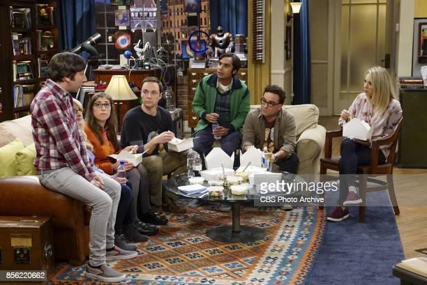 'The Explosion Implosion' Pictured Howard Wolowitz Bernadette Amy Farrah Fowler Sheldon Cooper Rajesh Koothrappali Leonard Hofstadter and Penny...