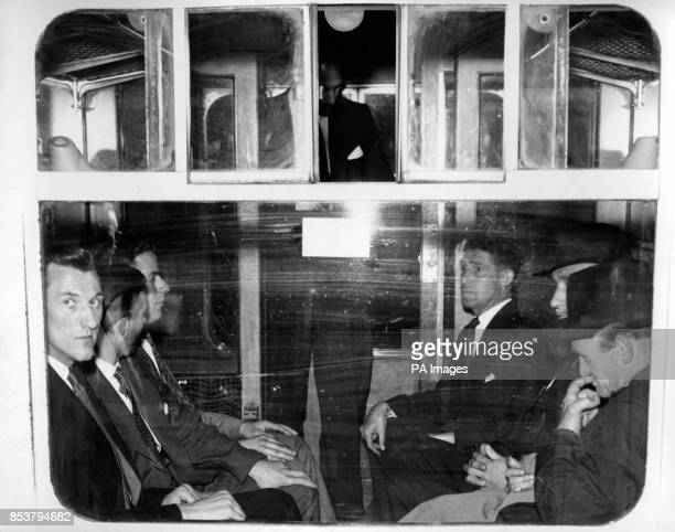 The express train The Bristolian leaves Bristol for London Under police escort was Albert Hinds the brother of jailbreaker Alfred Hinds who had...