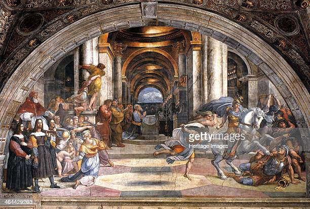 The Expulsion of Heliodorus 15111512 Found in the collection of the Apostolic Palace Vatican