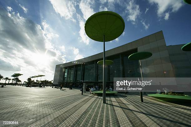 The exterior of BankAtlantic Center is shown before the Boston Bruins game against the Florida Panthers at BankAtlantic Center on October 6 2006 in...