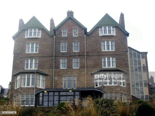 The exterior of Clashfarquhar House in Stonehaven Aberdeenshire Sunday March 19 where a dozen elderly residents have been trapped indoors on its...