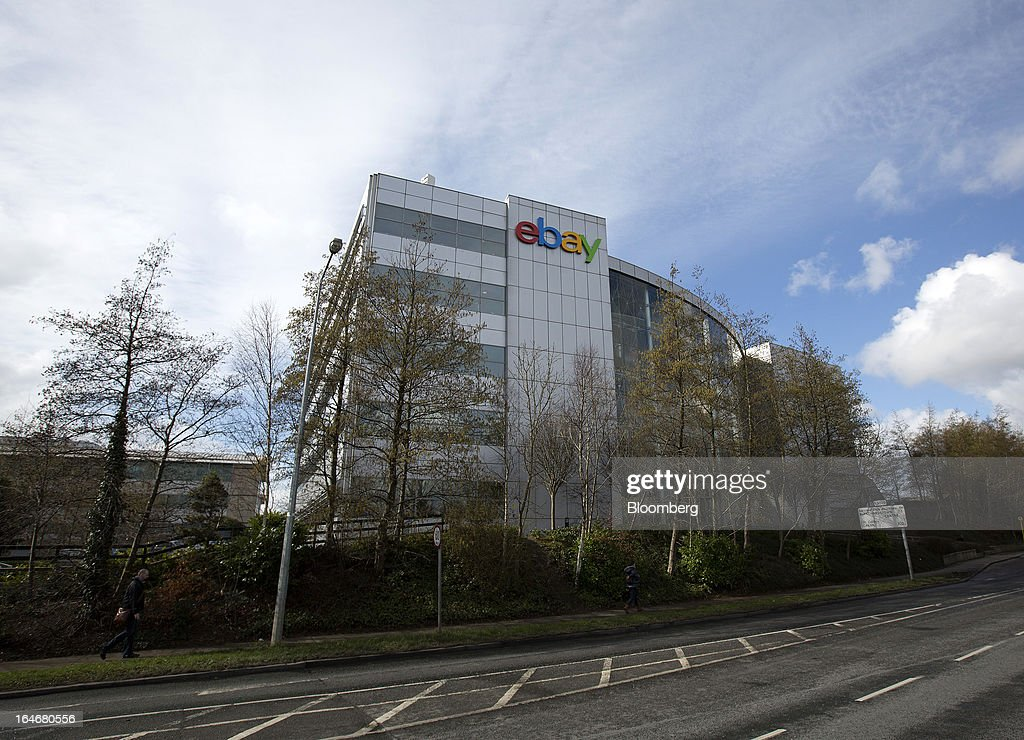 The exterior of EBay Inc.'s European headquarters is seen at Blanchardstown in Dublin, Ireland, on Friday, March 15, 2013. Ireland's renewed competiveness makes it a beacon for the U.S. companies such as EBay, Google Inc. and Facebook Inc., which have expanded their operations in the country over the past two years. Photographer: Simon Dawson/Bloomberg via Getty Images