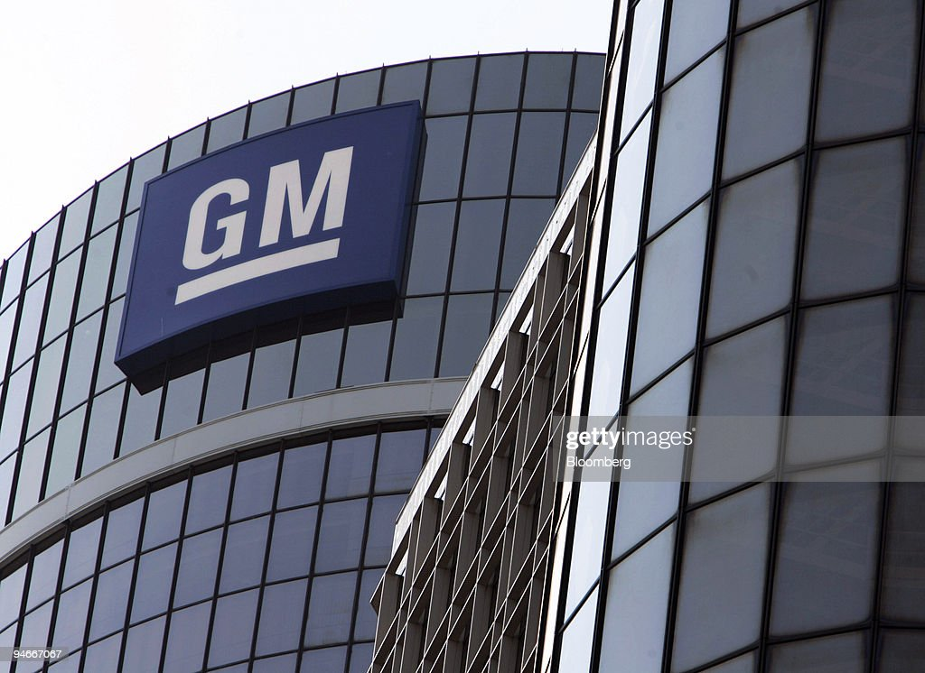 The exterior of General Motors headquarters in the Renaissance Center in Detroit Michigan Friday July 7 2006 General Motors Corp's board of directors...