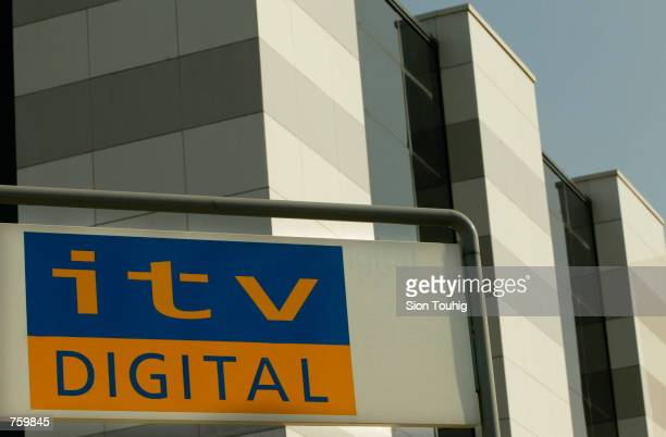 The exterior of ITV Digital headquarters seen March 28 2002 in London The digital television broadcaster is on the verge of bankruptcy after losing...