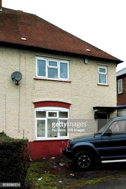 The exterior of Mick Philpott's council home in Allenton Derby which the fatherof14 claims is too cramped to accommodate his clan Tuesday March 14...
