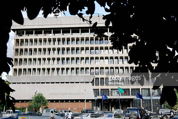 The exterior of the Bank of Zambia stands on Cairo Road Main Street in Lusaka Zambia on Monday Jan 28 2008 It is the central bank of Zambia and is...