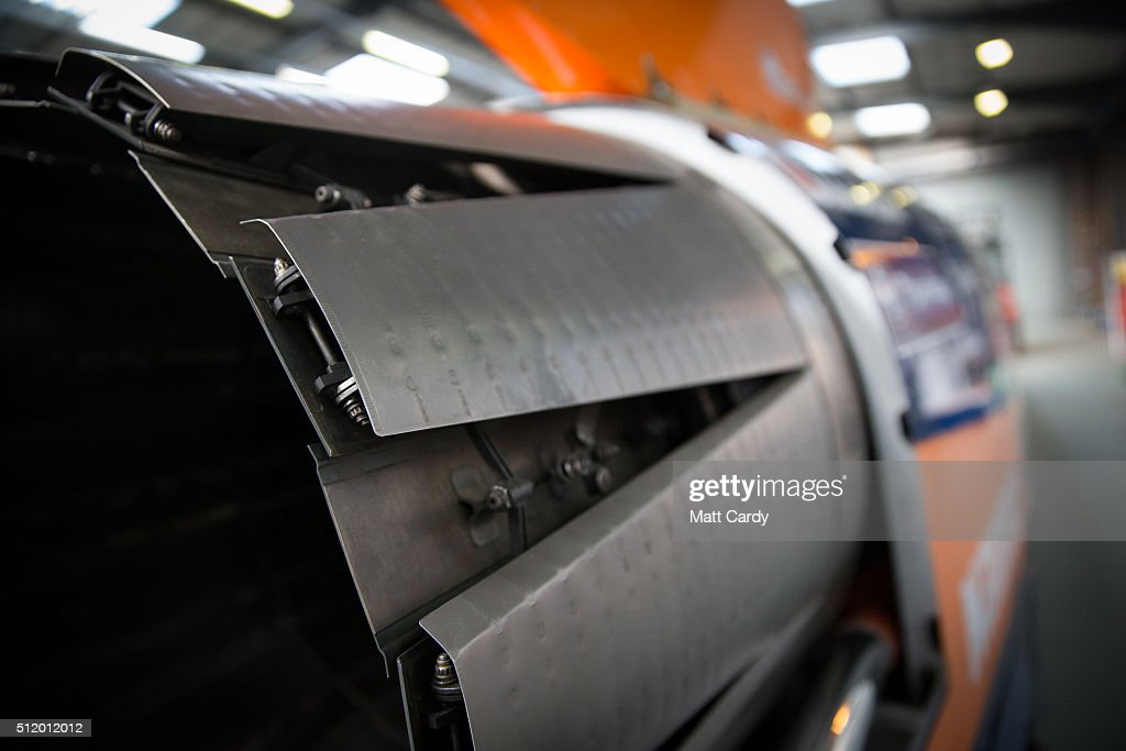 the bloodhound project supersonic car nears completion getty images. Black Bedroom Furniture Sets. Home Design Ideas