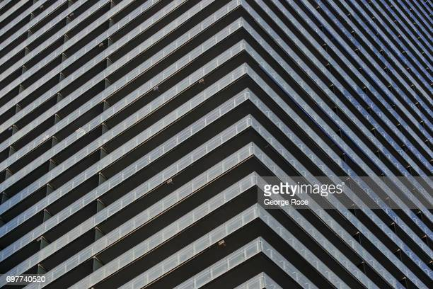 The exterior of The Cosmopolitan Hotel Casino is viewed on May 31 2017 in Las Vegas Nevada Tourism in America's 'Sin City' has within the past two...