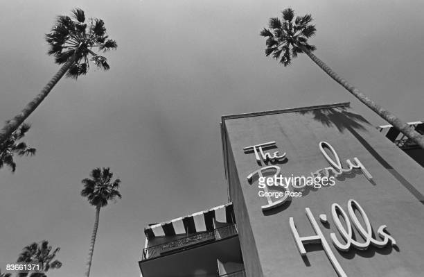 The exterior of the famed Beverly Hills Hotel is seen in this 1989 Beverly Hills California photo