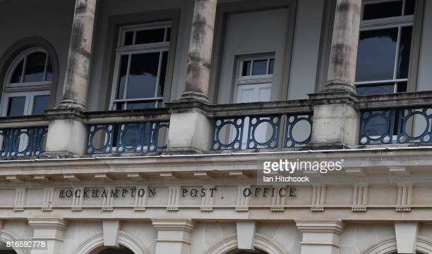 The exterior of the historic old Post Office building is seen on July 09 2017 in Rockhampton Australia