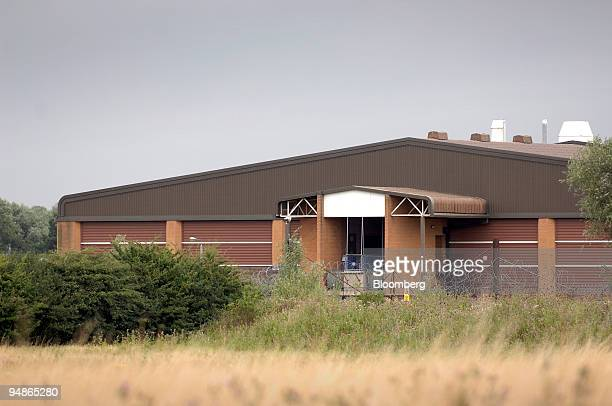 The exterior of the Huntingdon Life Sciences building is viewed in Huntingdon UK on Friday Aug 8 2008 UK Police say improved coordination between...