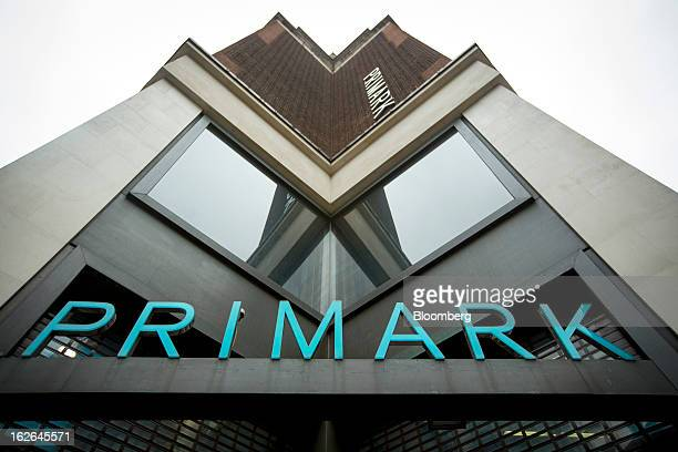 The exterior of the Primark store operated by Associated British Foods Plc is seen on Oxford Street in central London UK on Monday Feb 25 2013 UK...