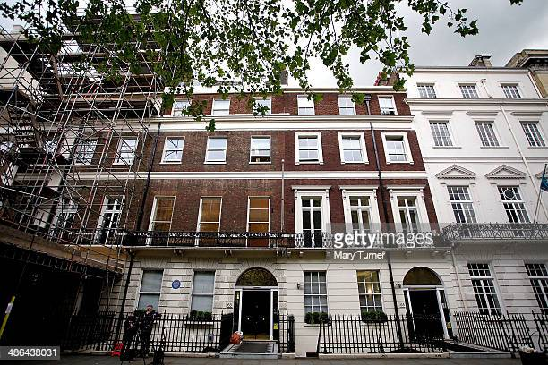 The exterior of The Southbank International School on Portland Place where it has been confirmed today William James Vahey a prolific US paedophile...
