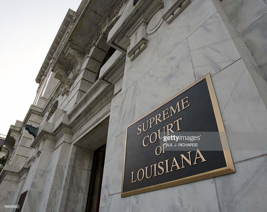 The exterior of the Supreme Court of Louisiana 24 August 2007 in New Orleans AFP Photo/Paul J Richards