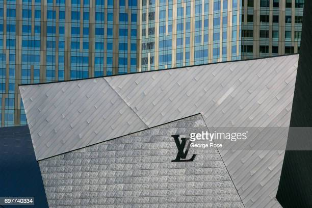 The exterior of the Yves Saint Laurent store located at The Crystals shopping mall in the CityCenter complex is viewed on May 31 2017 in Las Vegas...