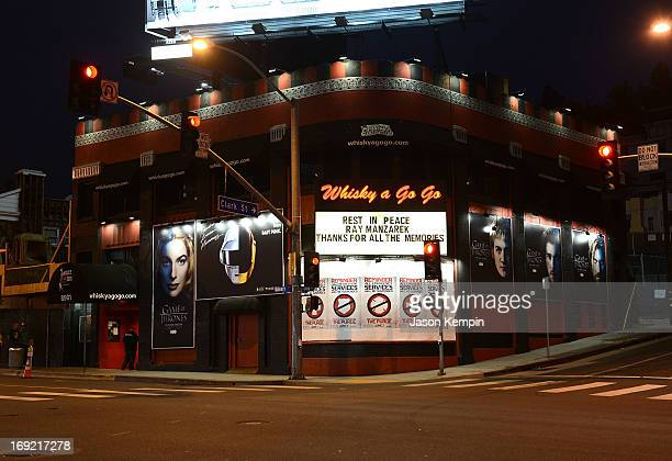 The exterior of Whisky a Go Go is seen on May 21 2013 in West Hollywood California