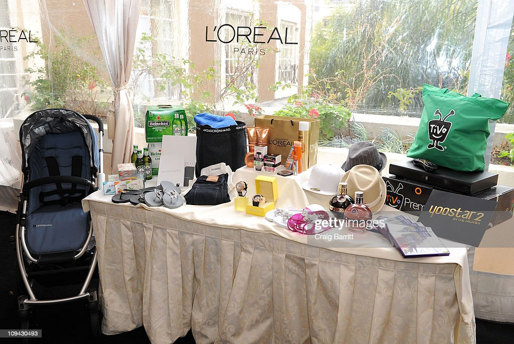 The EXTRA Luxury Lounge In Honor Of 83rd Annual Academy Awards products are displayed during day 1 held at the Four Seasons Hotel Los Angeles at Beverly Hills on February 25, 2011 in Beverly Hills, California.
