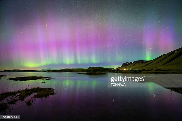 The extremely northern lights in Iceland (KP9)