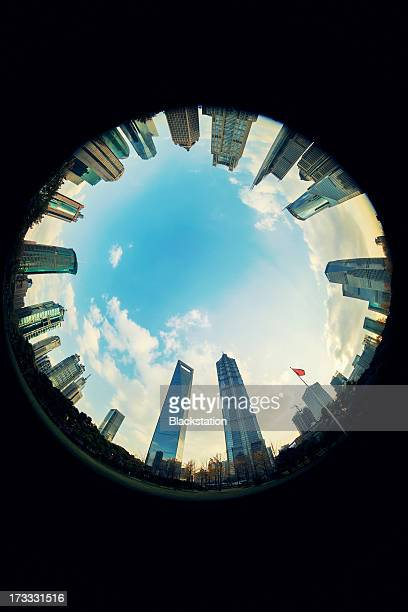 the eye of the Lujiazui CBD