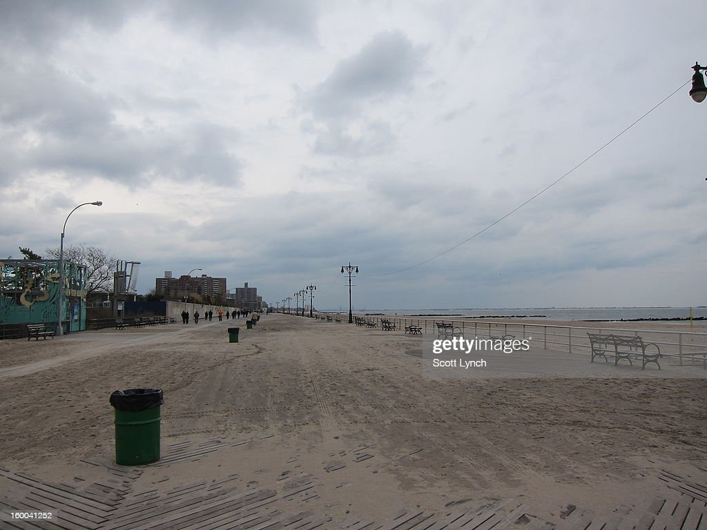 CONTENT] The fabled boardwalk of Coney Island, still covered with sand more than two months after Hurricane Sandy.