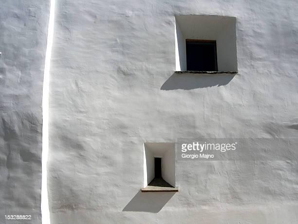 The facade of a 16th century building