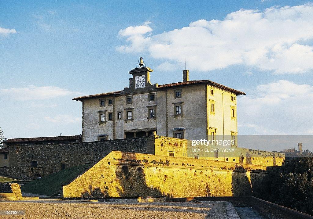 The facade of Belvedere fortress 15901595 architect Bernardo Buontalenti Florence Tuscany Italy