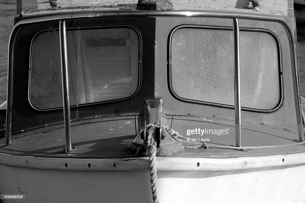 The face of a boat : Stock Photo