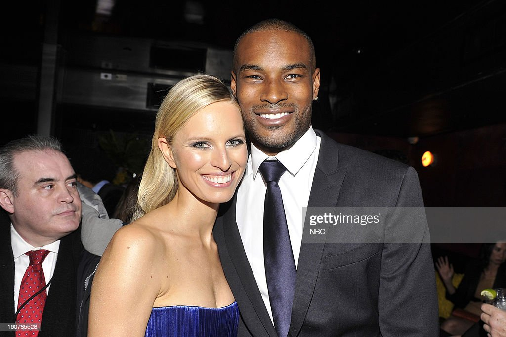 EVENTS -- 'The Face' Premiere Party and Upfront 2013 -- Pictured: (l-r) Karolina Kurkova, Tyson Beckford --