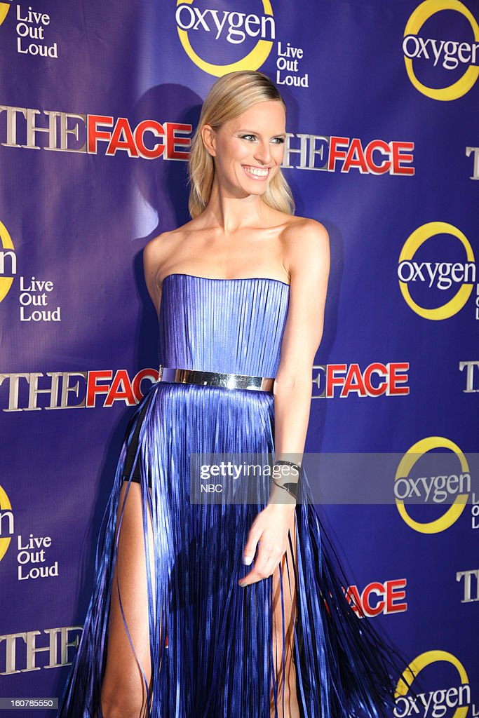 EVENTS -- 'The Face' Premiere Party and Upfront 2013 -- Pictured: Karolina Kurkova --