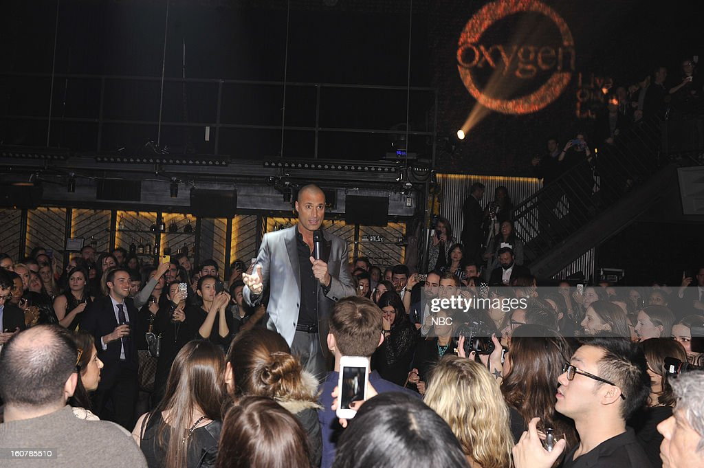 EVENTS -- 'The Face' Premiere Party and Upfront 2013 -- Pictured: Nigel Barker --