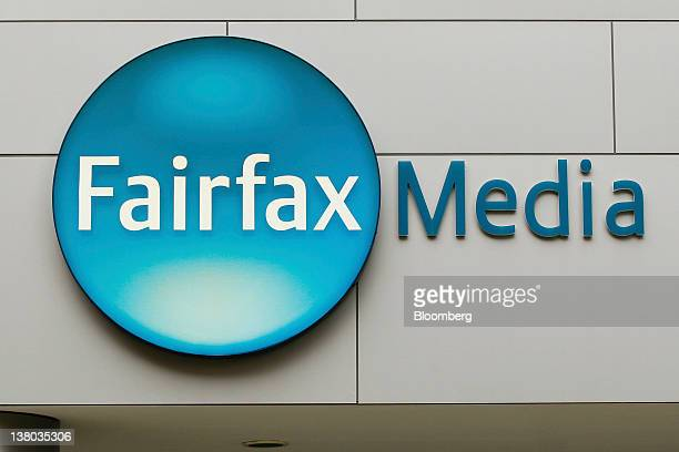 The Fairfax Media Ltd logo is displayed outside their offices in Sydney Australia on Wednesday Feb 1 2012 Fairfax Media Australia's secondlargest...