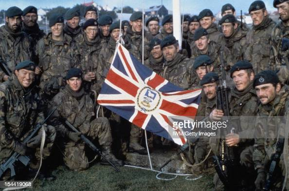 The Falklands Conflict April June 1982 Naval Party 8901 the Royal Marine garrison of the Falkland Islands evicted by the Argentine invaders with the...