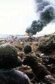The Falklands War in Port Stanley Falkland Islands in April 1982 The Falklands War