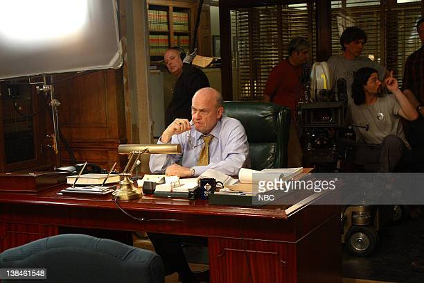 LAW ORDER 'The Family Hour' Episode 22 Air Date Pictured Fred Thompson as DA Arthur Branch