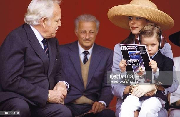 The Family Of Monaco Grand Prix F1 On May 07th 1989 In MonacoMonaco