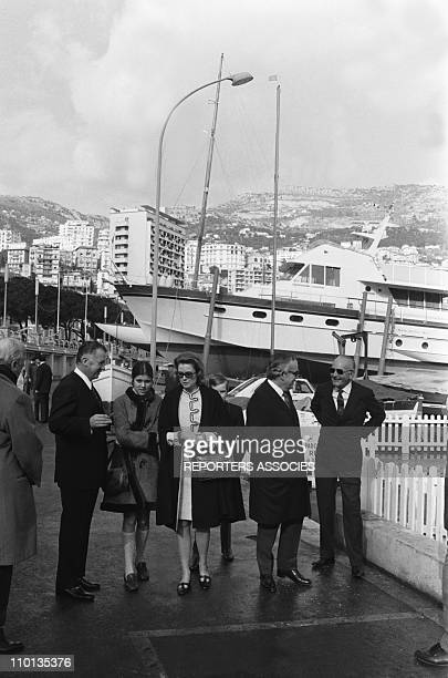 The family of Monaco on February 4th 1970