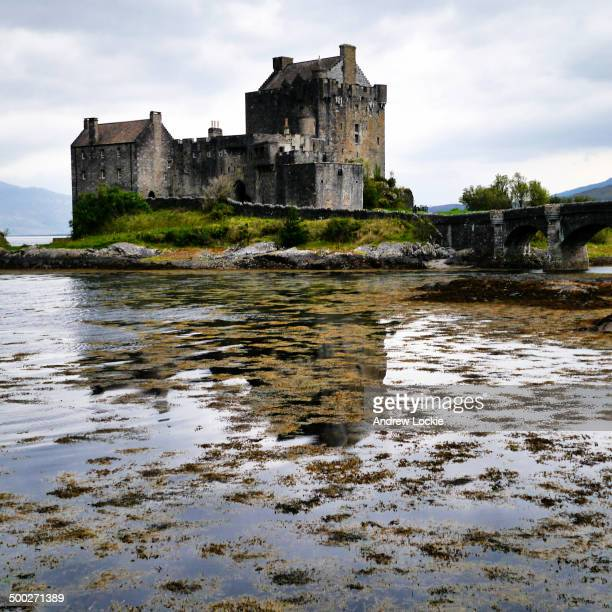 CONTENT] The famous and iconic Eilean Donan Castle near Dornie Kyle of Lochalsh Highlands Scotland