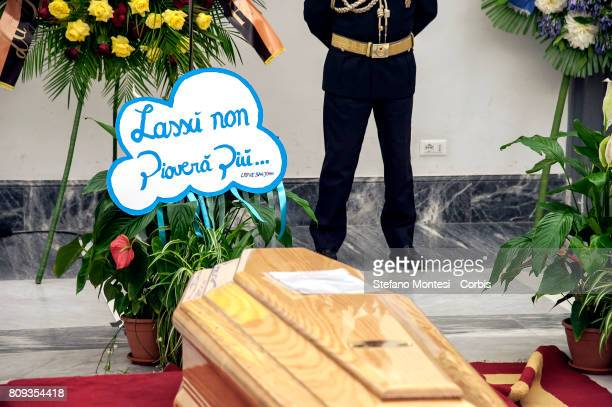 The famous cloud of 'Fantozzi' an unlucky clerk with a troubled work and family life the character that made Paolo Villaggio one of the country's...