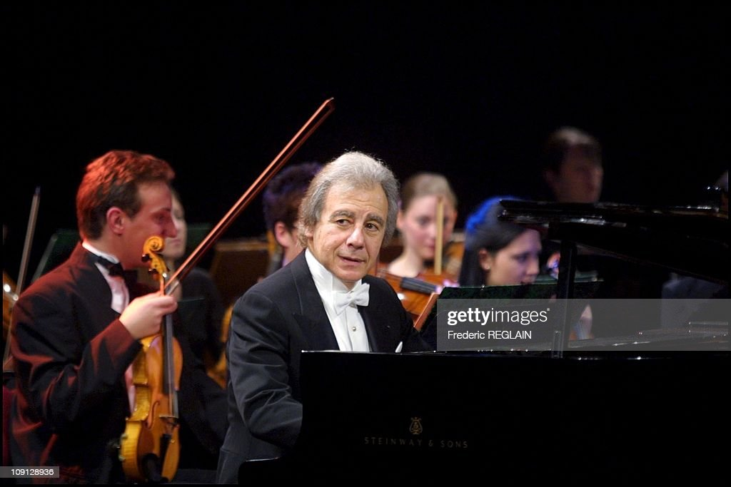 The Famous Composer Arranger Conductor And Pianist Lalo Schifrin Performs Live In Auxerre On November 16Th 2001 In Auxerre France