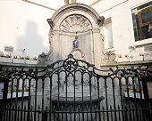 The famous Manneken Pis, Brussels
