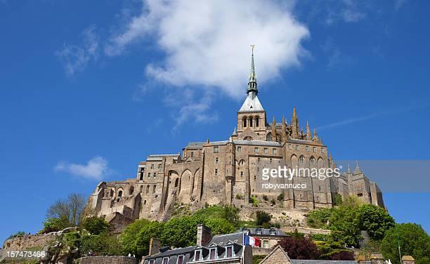 The famous Mont Saint Michel, France