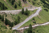 """""""The famous road to Stelvio Pass in Ortler Alps (South Tyrol, Italy)"""""""